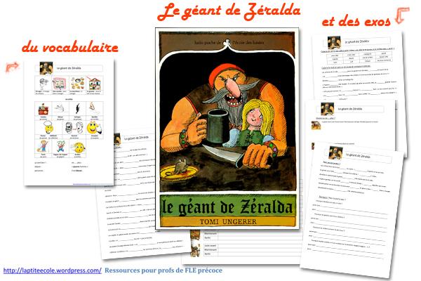 FLE aux enfants telecharger le geant de Zeralda