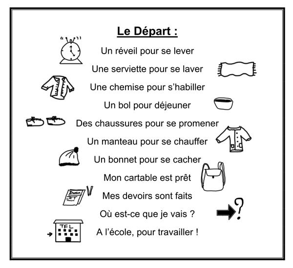 Poésie Le Départ La Ptite Ecole Du Fle