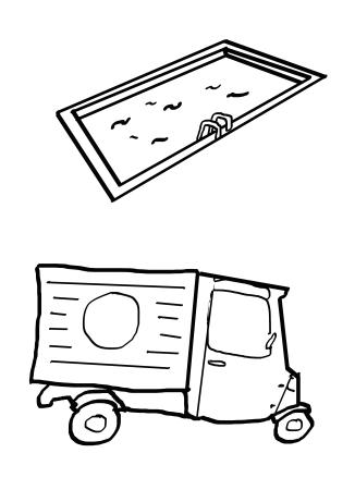 Piscine Camion