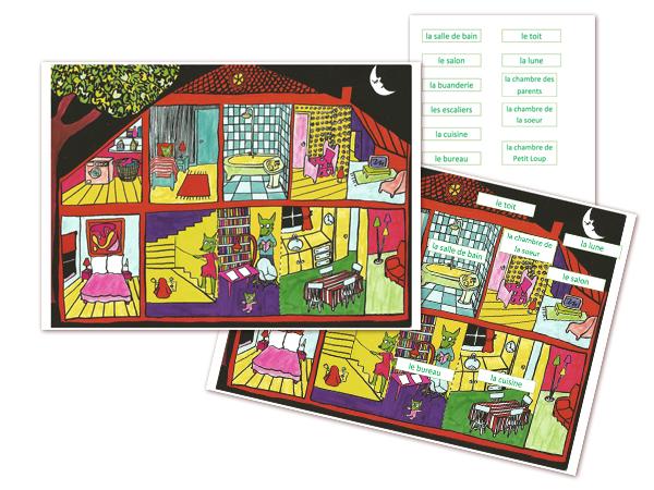 cach la p 39 tite ecole du fle. Black Bedroom Furniture Sets. Home Design Ideas