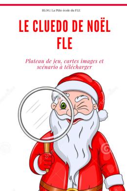 FLE enfants Jeu à imprimer Noel