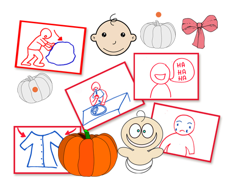 Halloween flashcards FLE enfants Citrouilles Bebes PDF