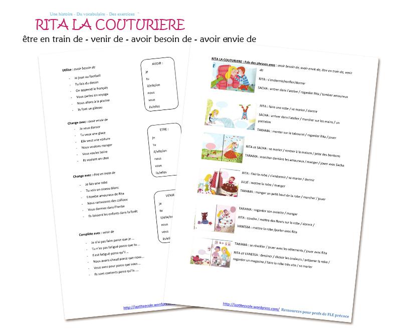 Histoire Livre français facile A2 FLE enfants exercices PDF