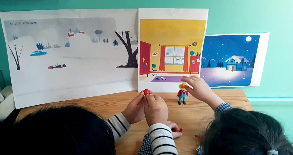 Playmobils FLE Jouer en classe Raconter des histoires enfants