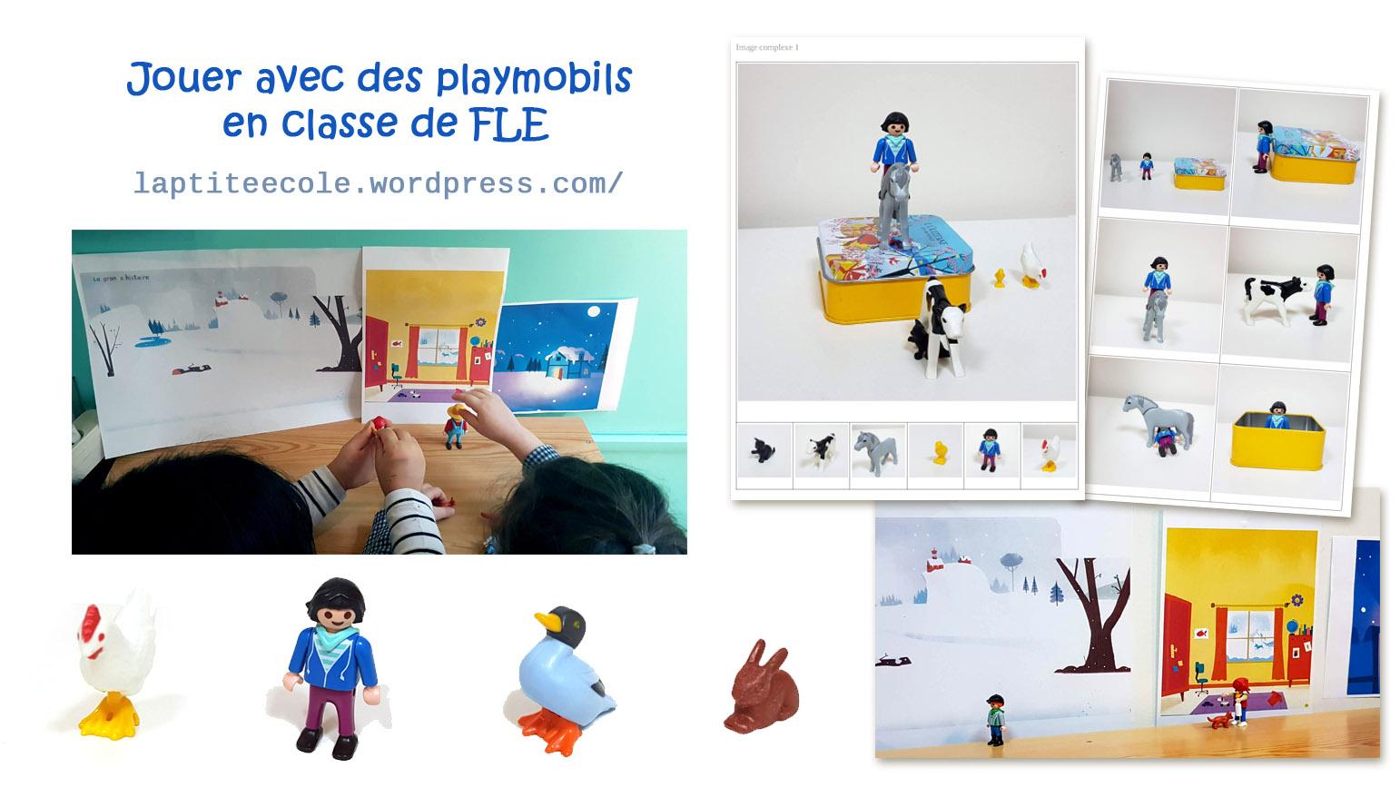 Playmobils FLE Jouer en classe